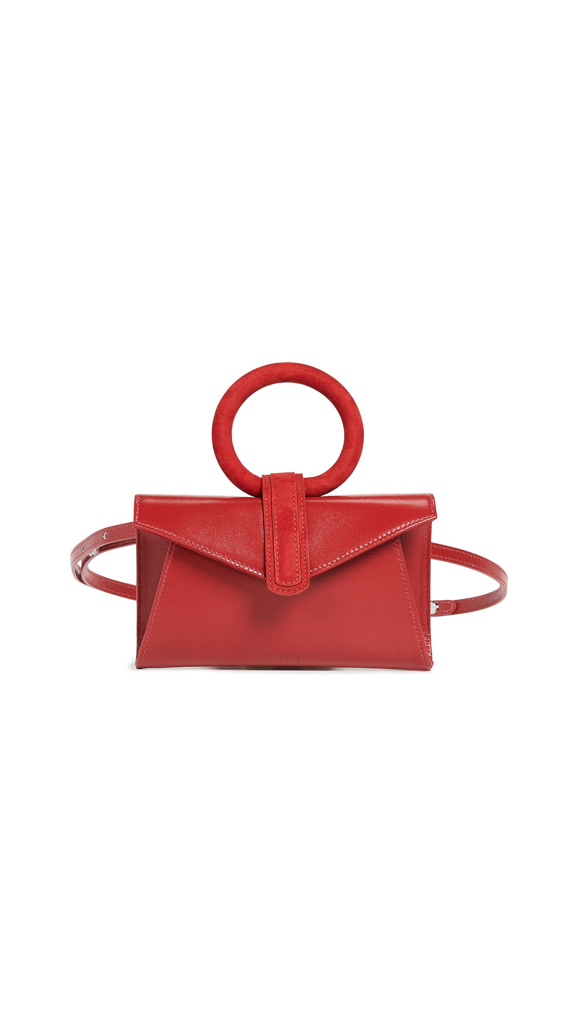 Valery Micro Belt Bag, Red