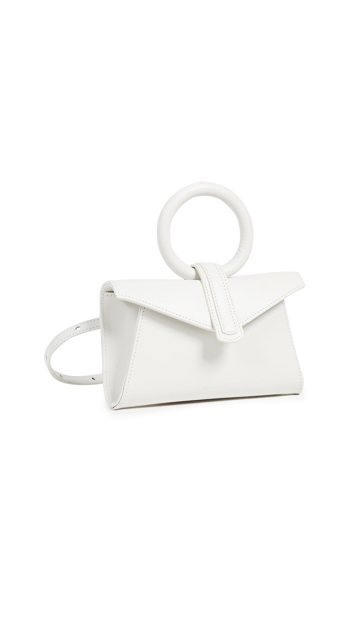 COMPLET Valery Micro Belt Bag in Ecru
