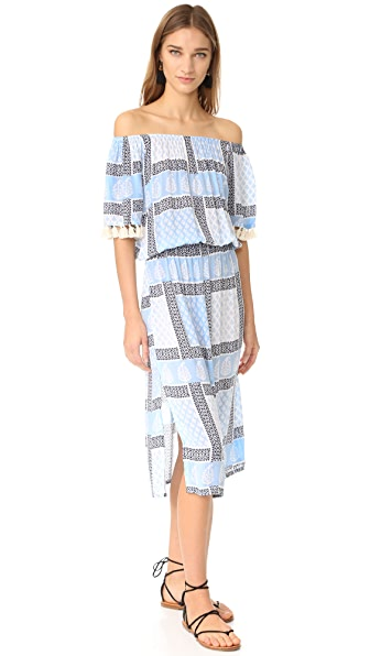 coolchange Karl Dress - Powder Blue/Nightfall