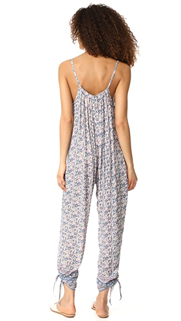 coolchange Delilah Jumpsuit Lotus Flower