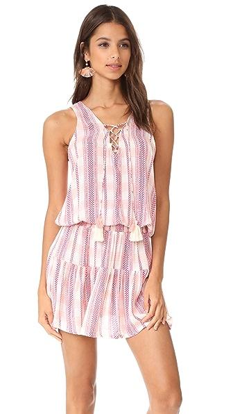 coolchange Tessa Low Tide Dress - Raspberry