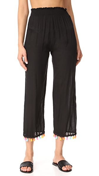 coolchange Ibiza Celeste Pants In Black