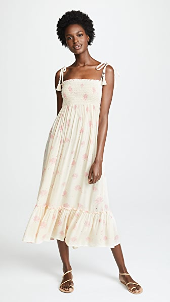 COOL CHANGE Floating Lilly Piper Dress in Pearl/Candy