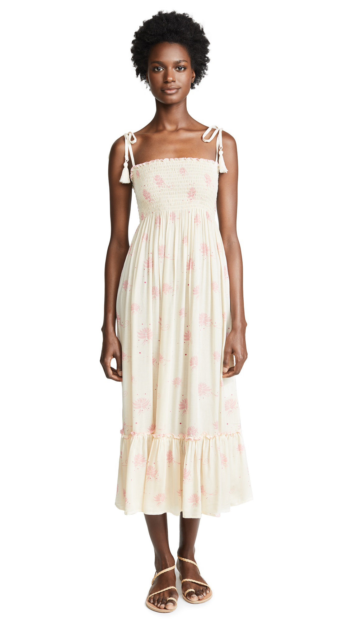 coolchange Floating Lilly Piper Dress In Pearl/Candy