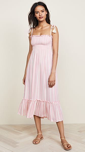 COOL CHANGE Piper Maxi Dress in Candy/Pearl