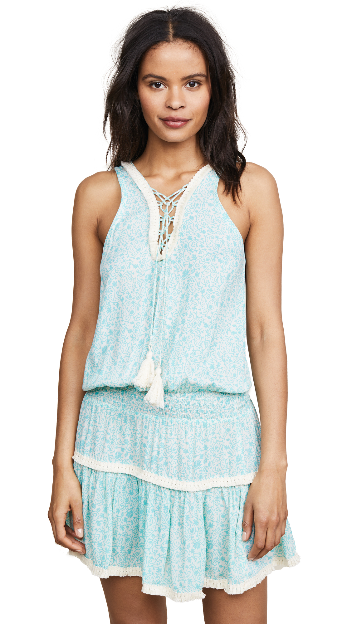 coolchange Lorient Tessa Tunic In Turquoise