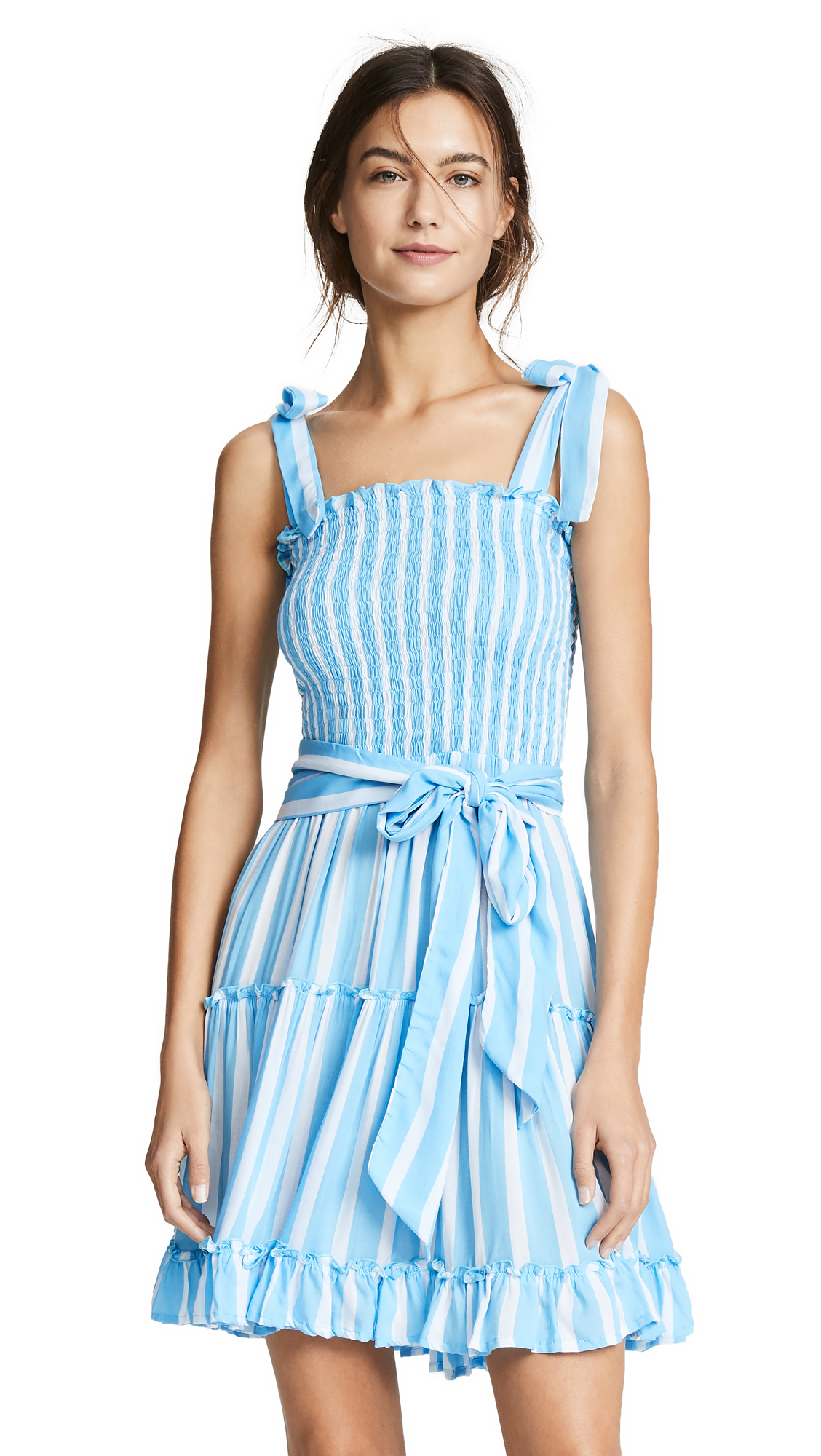 COOL CHANGE Reagan Dress in Toiny Stripe