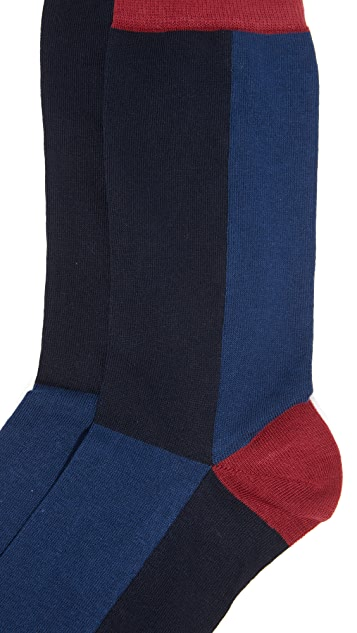 Corgi Colorblock Socks