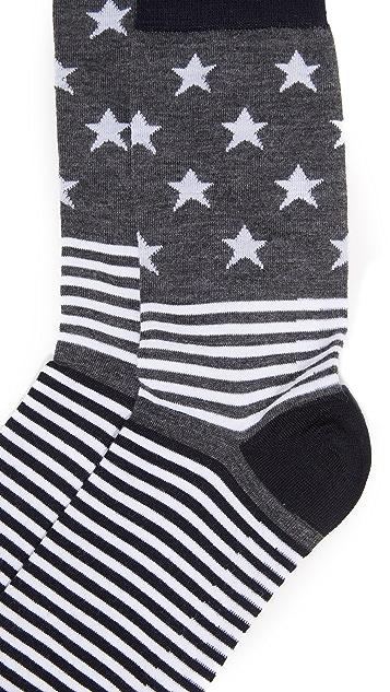 Corgi Stars & Stripe Socks