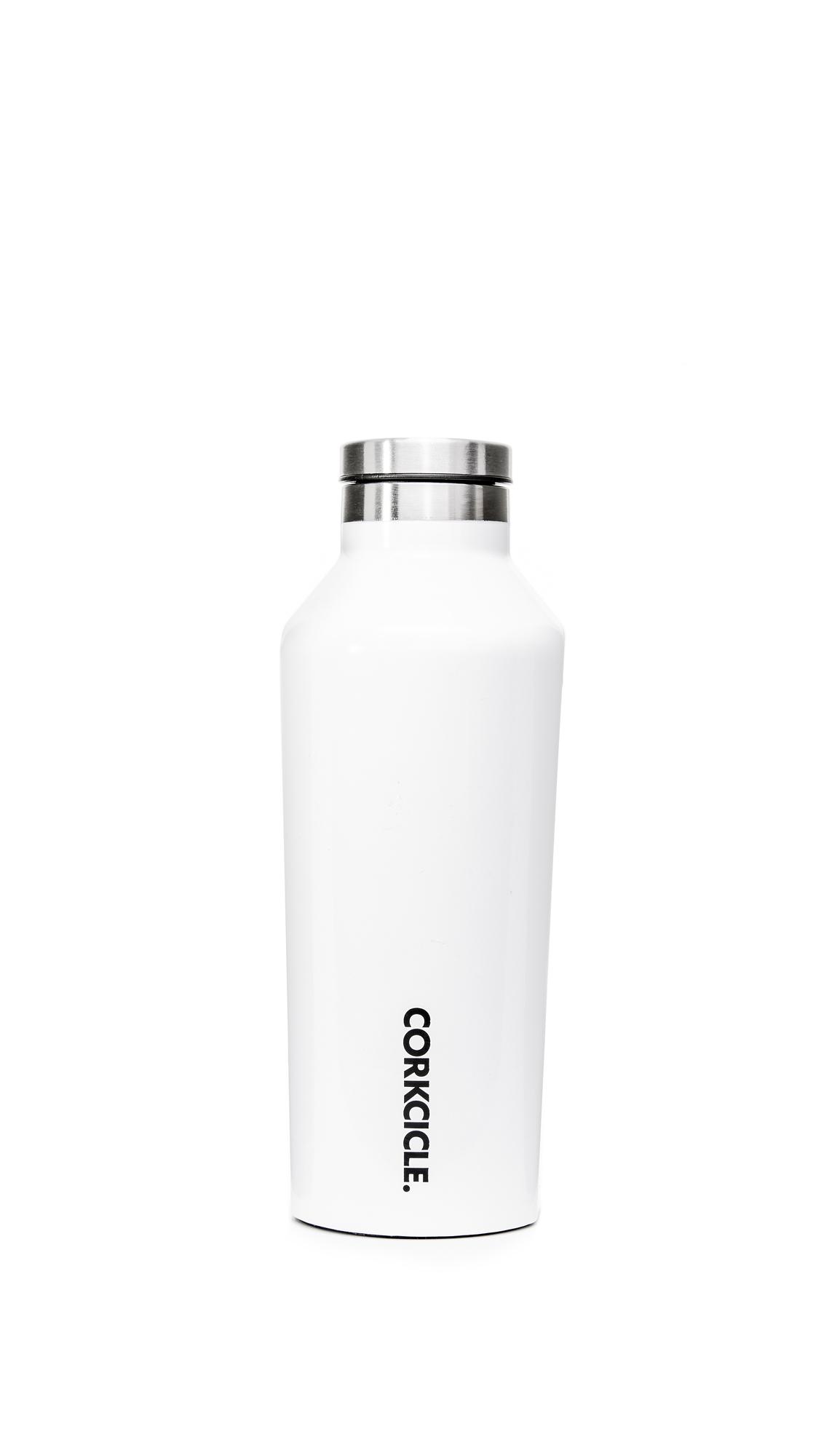 Corkcicle Gloss 9oz Canteen - Gloss White