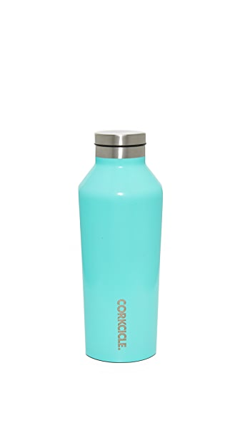 Corkcicle Gloss 9oz Canteen - Gloss Turquoise