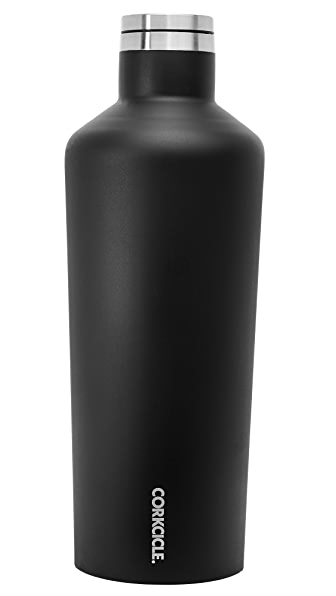 Corkcicle Matte 60oz Canteen In Matte Black