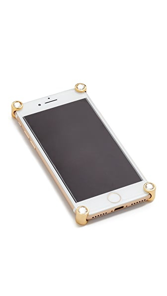 Corners4 iPhone 7 & 7 Plus Crystal Corners - Gold/Clear