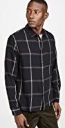 Corridor Plaid Long Sleeve Flannel Shirt
