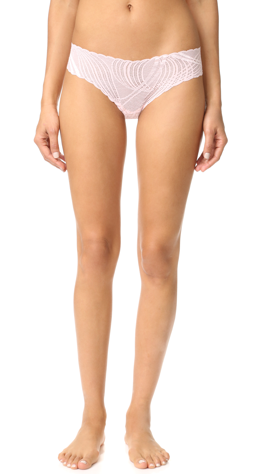 cosabella female 243279 cosabella minoa low rise thong pink lily