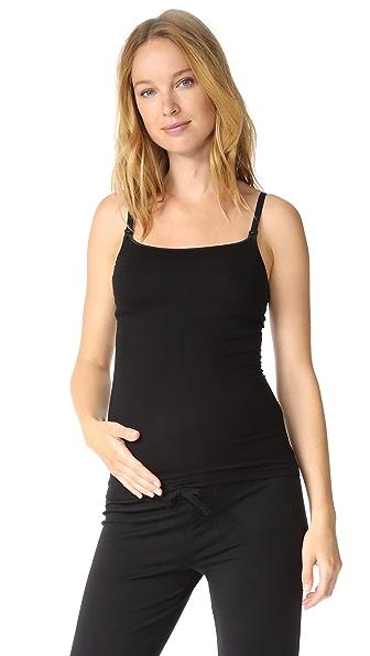 Cosabella Talco Maternity Cami - Black