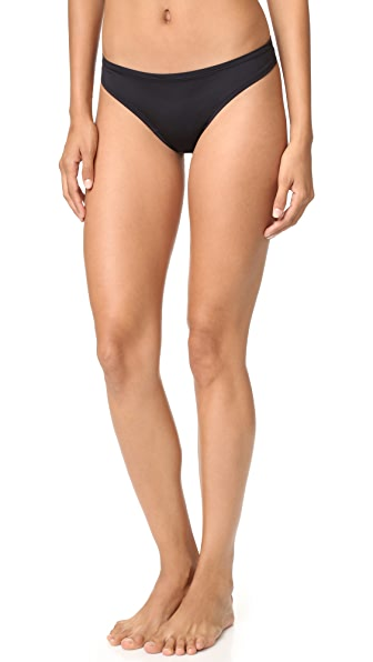 Cosabella Evolution Low Rise Thong In Black