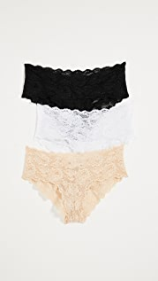 Cosabella Never Say Never Hottie Hotpant 3 Pack