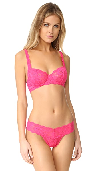 Cosabella Never Say Never Prettie Underwire Bra - Hot Pink