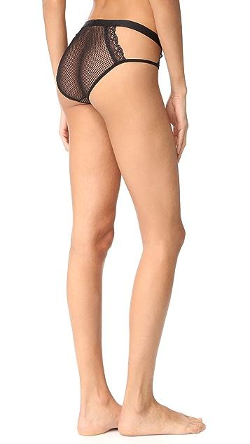 Cosabella Bisou Fishnet Bikini Briefs