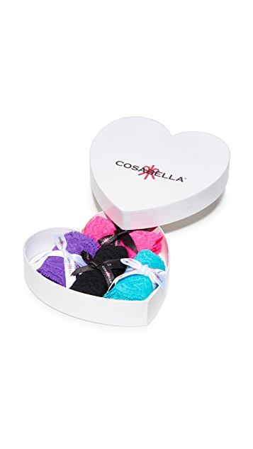 Cosabella Box Of Love 4 Pack Thongs
