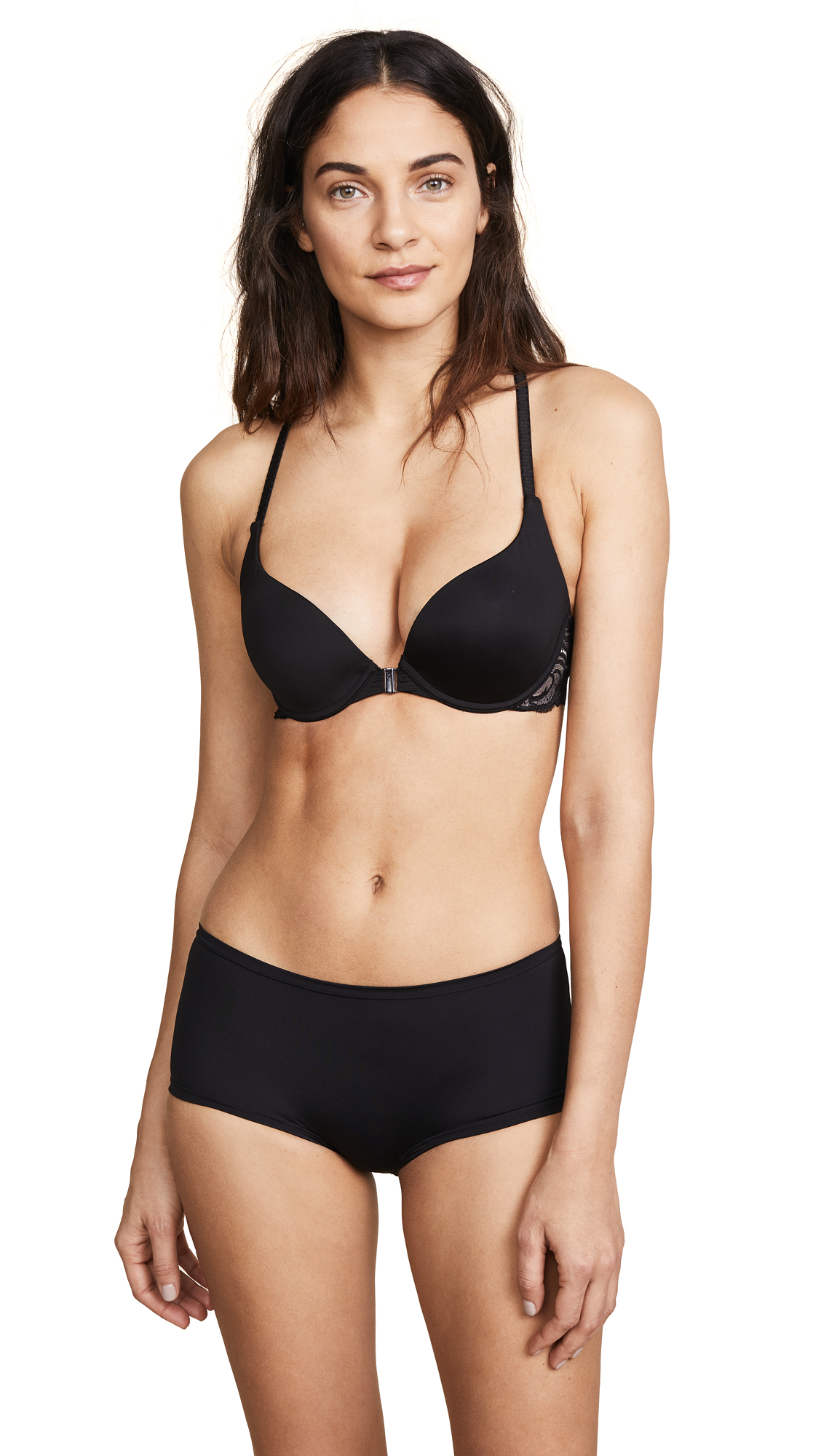 Cosabella Evolved Push Up Bra - Black