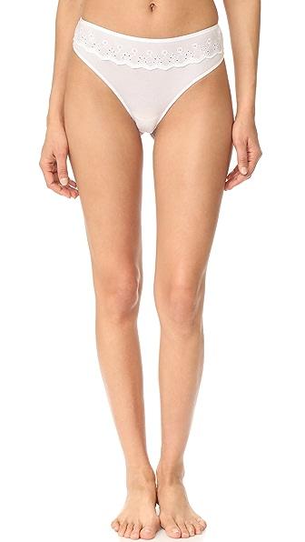 Cosabella Constance Minikini Panties - White