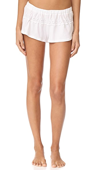 Cosabella Constance Tap Shorts In White