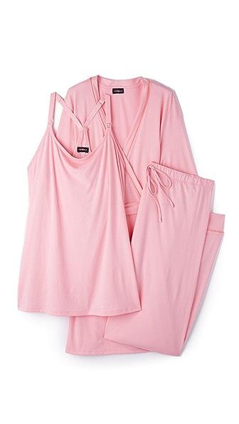 Cosabella Халат и пижама Bella для беременных