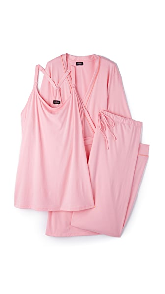 Cosabella Bella Maternity Robe & PJ Set