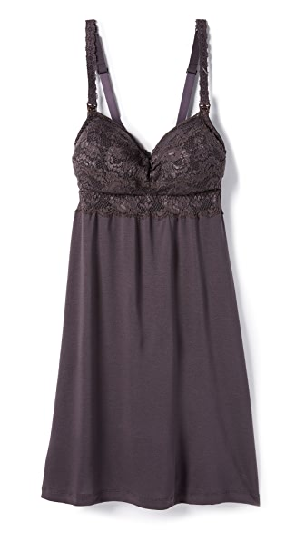 Cosabella Never Say Never Mommie Babydoll - Graphite