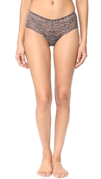 Cosabella Pret A Porter Hot Pants In Graphite