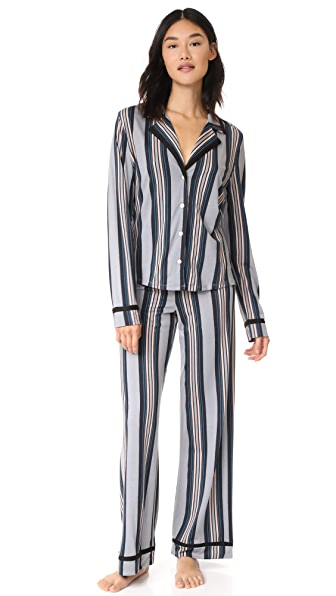 Cosabella Bella Printed Long PJ Set