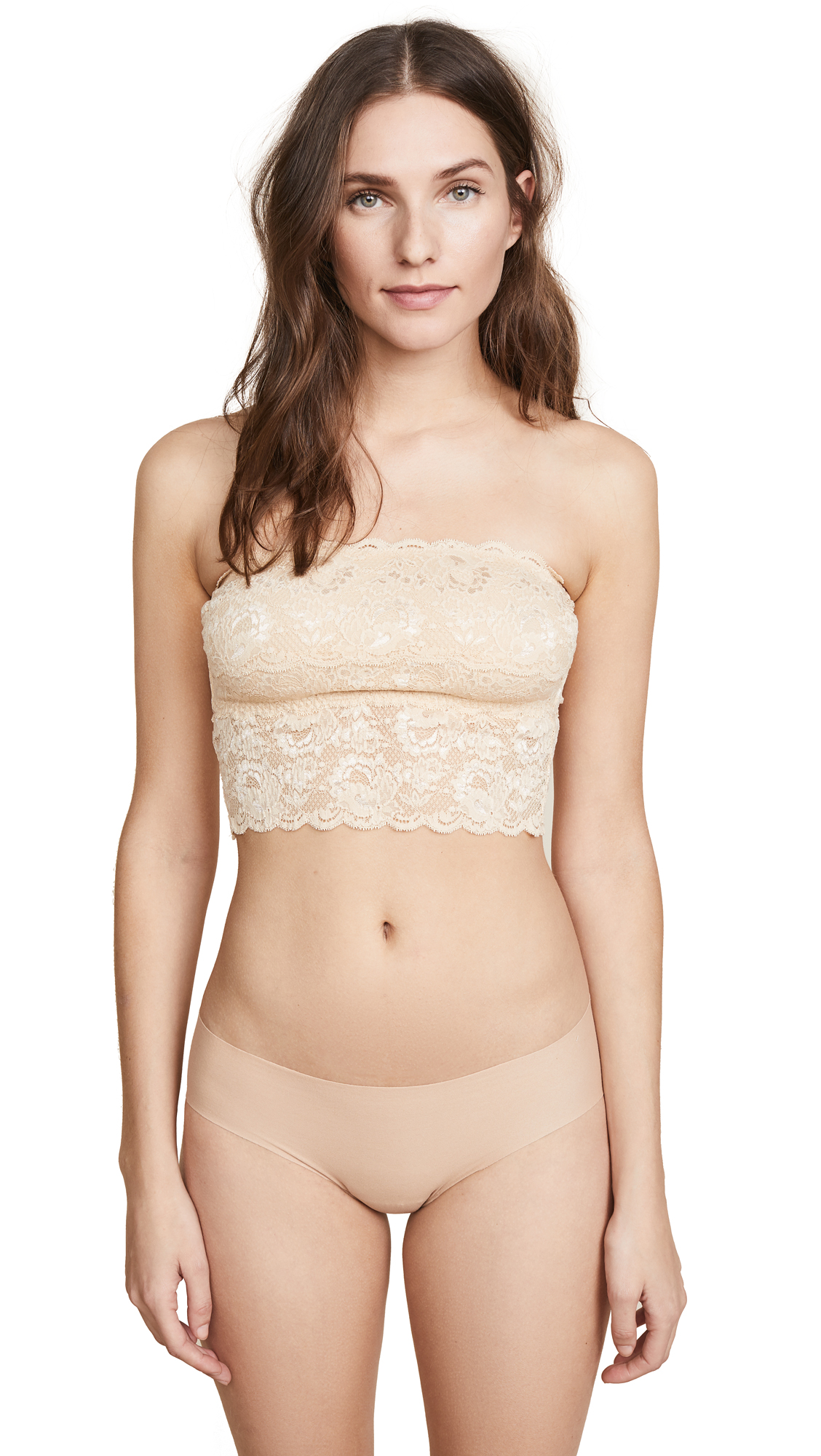 Never Say Never Tube Top, Blush