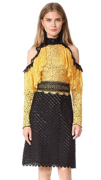 Costarellos Halter Dress