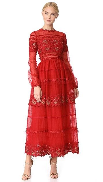 Costarellos Tea Ball Gown