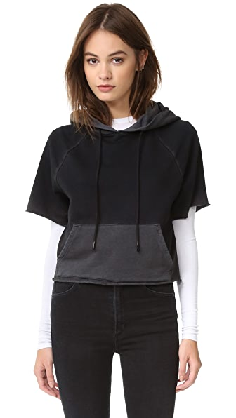 Cotton Citizen The Milan Cutoff Hoodie