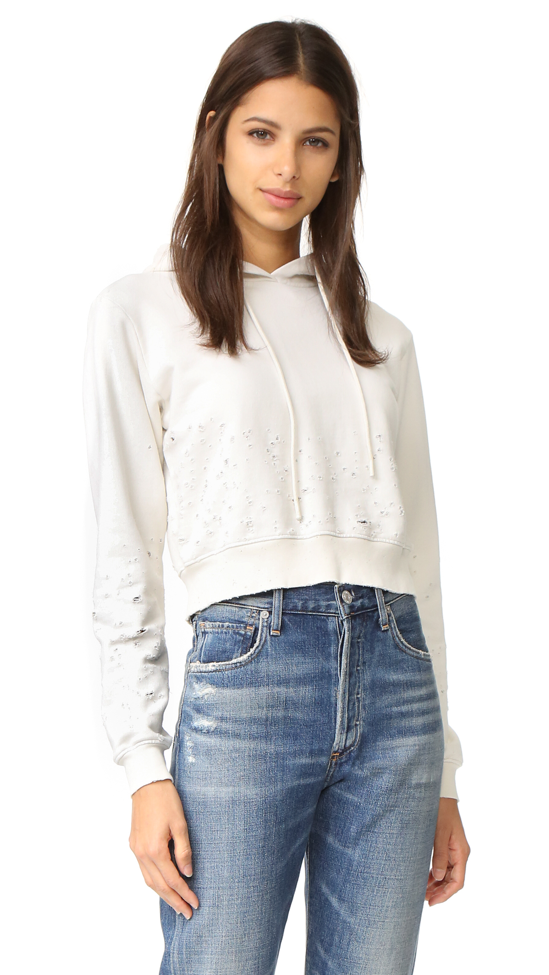 Cotton Citizen Cottons THE MILAN CROPPED HOODIE