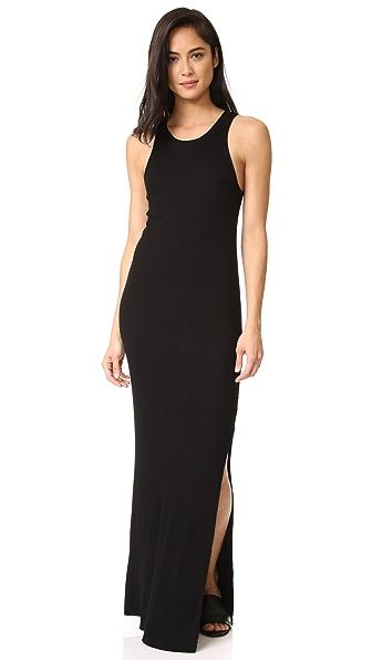 Cotton Citizen Melbourne Maxi Dress - Jet Black