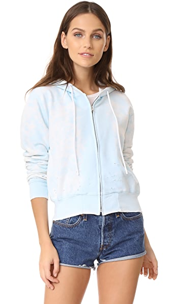 Cotton Citizen Milan Cropped Zip Hoodie