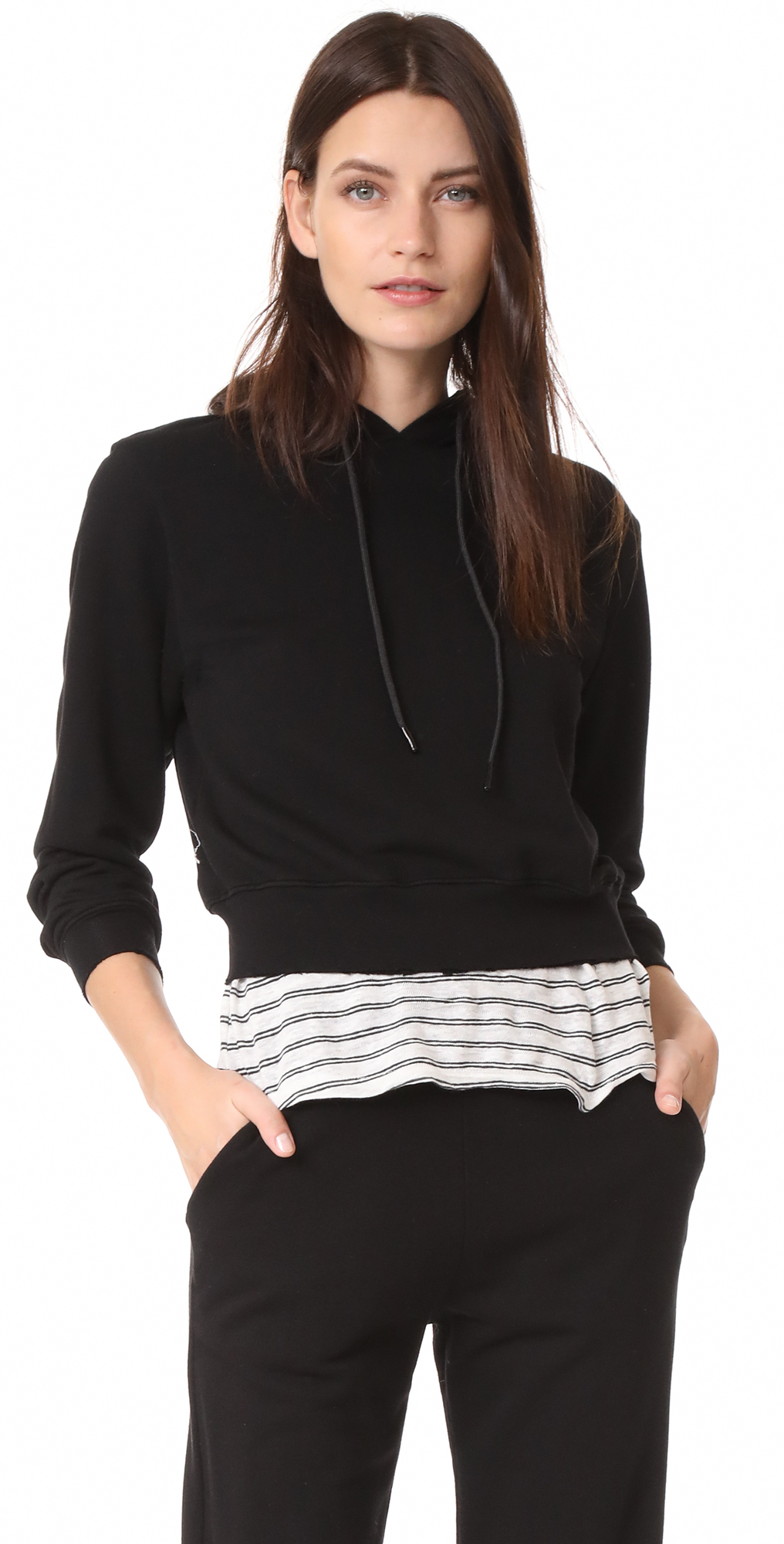 The Milan Cropped Hoodie Cotton Citizen