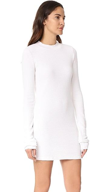 Cotton Citizen The Monaco Thermal Mini Dress