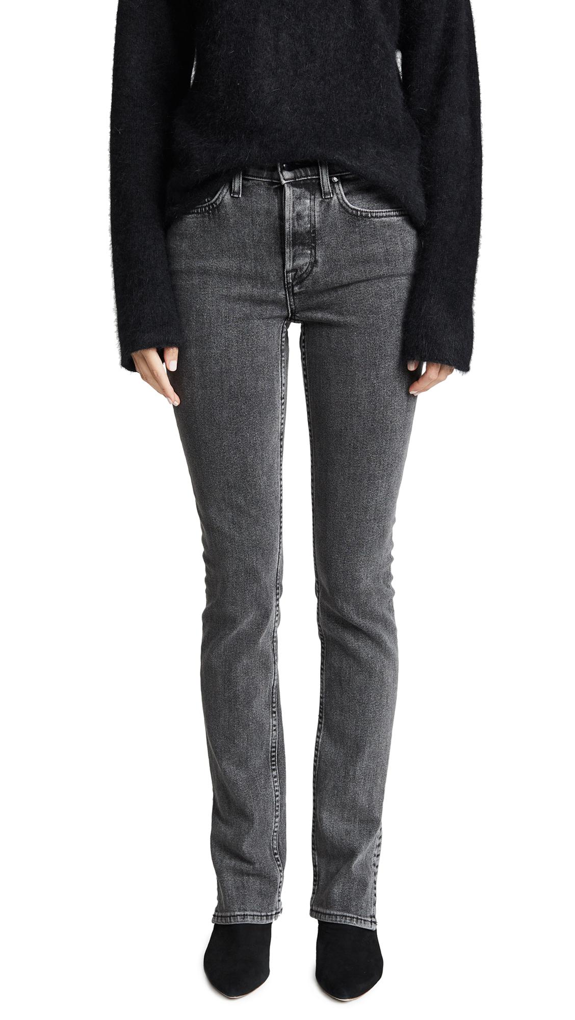 High Split Jeans