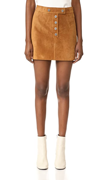 Courreges Mini Snap Skirt