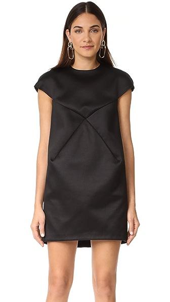 Courreges Платье с короткими рукавами