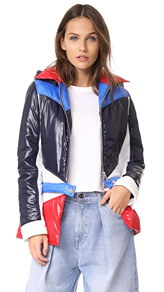 Courreges Power Rangers Jacket In Navy/White