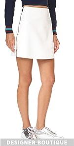 Side Zip Miniskirt Courreges