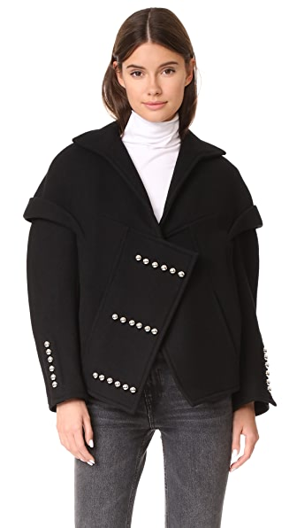Courreges Veste Coat - Noir