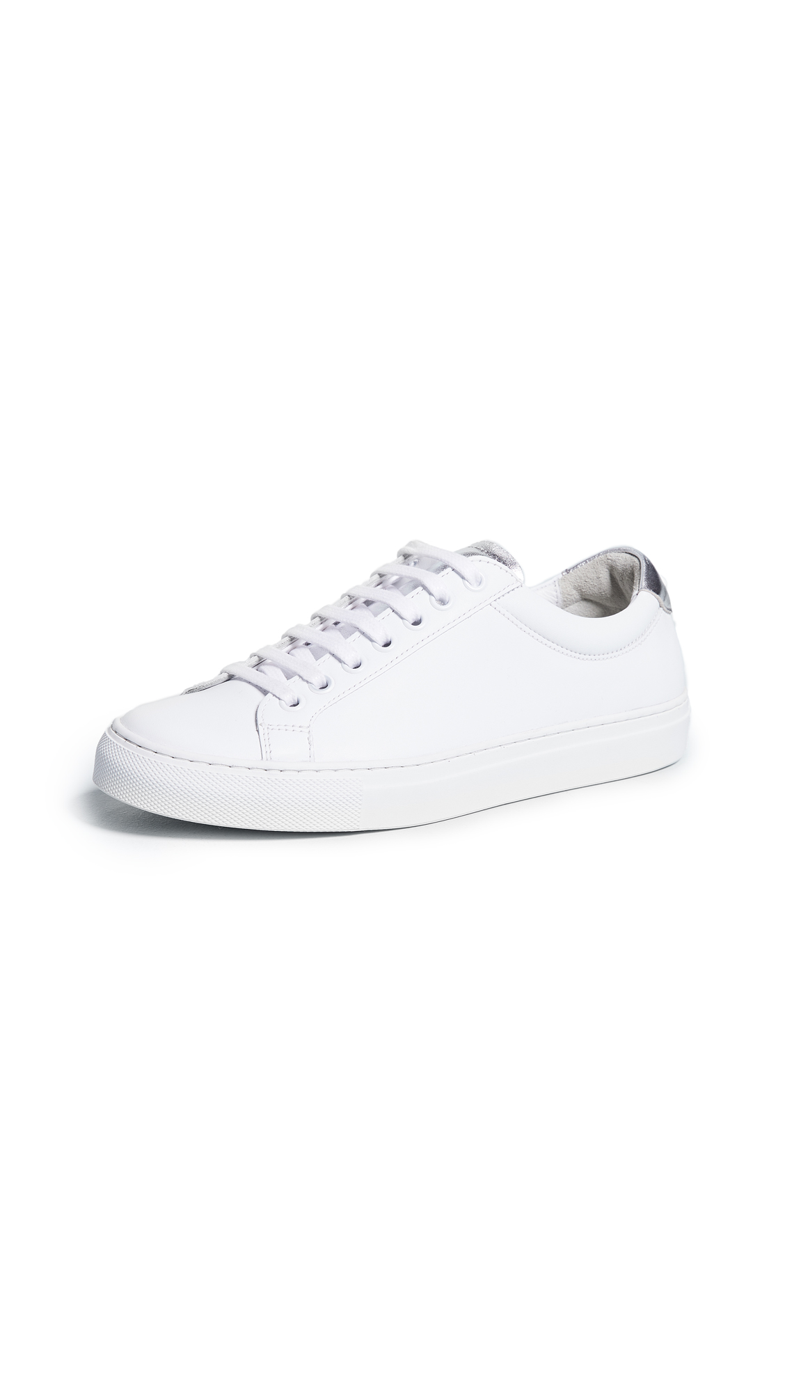 Courreges Classic Sneakers - White/Silver