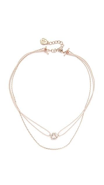 Cloverpost Spiral String Choker Necklace